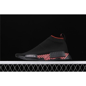 Men Adidas NMD Real Boost CS1 PK In Cloud Black G27354 Shoes