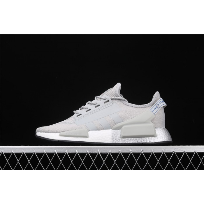 Men Adidas NMD Real Boost R1 V2 FW5328 In Grey Shoes
