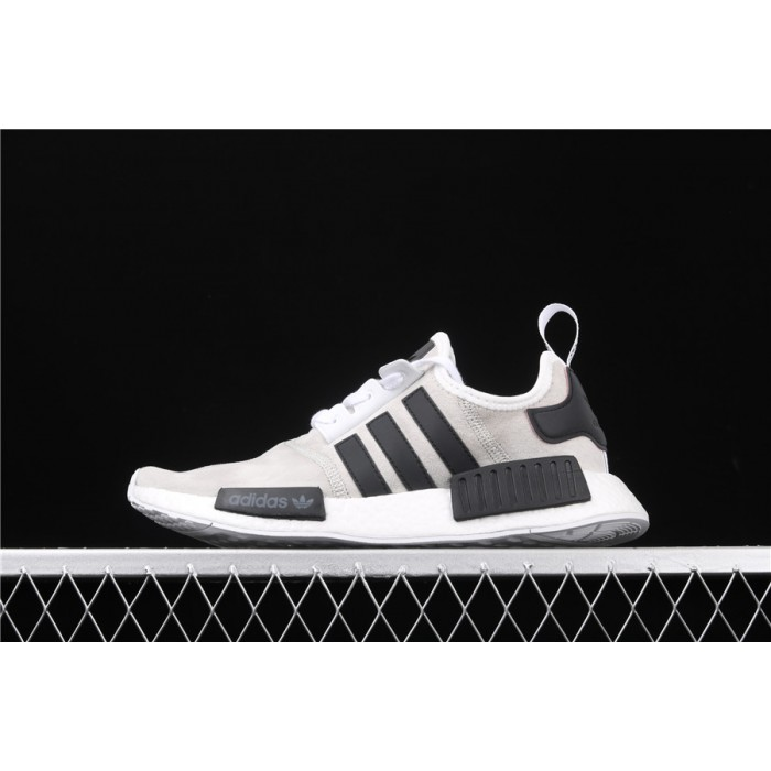Men Adidas NMD Real Boost R1 B97418 In Grey Shoes