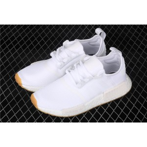 Men Adidas NMD Real Boost R1 D96635 In White Shoes