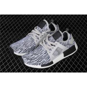 Men Adidas NMD Real Boost Primeknit Runner XR1 BY1910 Stripe Shoes