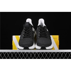 Men Adidas Ultra Boost 19W 5.0 B37704 In Black White Shoes