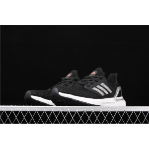 Men Adidas Ultra Boost 20 Consortium EG0766 Black Silver Shoes