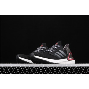 Men Adidas Ultra Boost 20 Consortium FX8895 In White Black Shoes