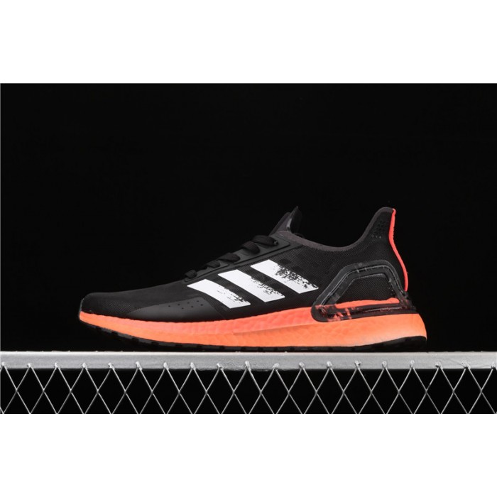 Men Adidas Ultra Boost 20 Consortium PB EG0427 Black Orange Shoes