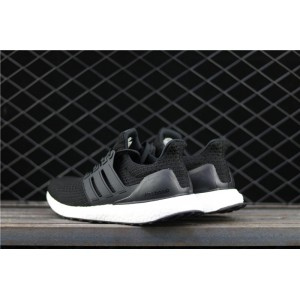 Men Adidas Ultra Boost 4.0 BB6166 In Black White Shoes