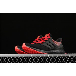 Men Adidas Ultra Boost 4.0 BY1756 In Black Red Shoes
