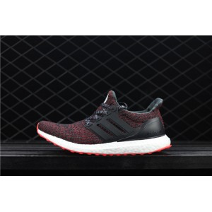 Men Adidas Ultra Boost 4.0 CNY BB6173 Black Red Shoes
