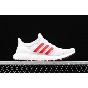 Men Adidas Ultra Boost 4.0 DB3199 White Red Shoes