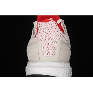 Men Adidas Ultra Boost 4.0 EF2024 Red White Shoes