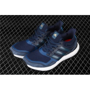 Men Adidas Ultra Boost Pure EF0725 Blue White Shoes