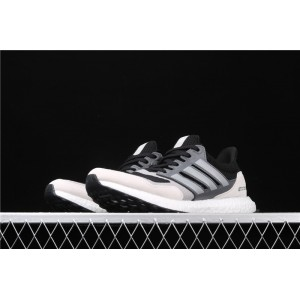 Men Adidas Ultra Boost Pure EF0726 Black White Silver 3M Shoes