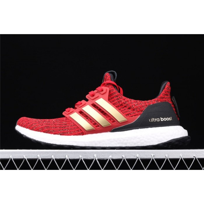 Men Game Of Thrones x Adidas Ultra Boost 4.0 EE3710 Red Golden Shoes
