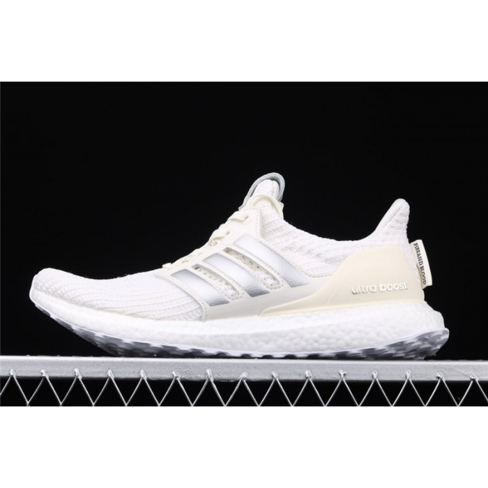 Men Game Of Thrones x Adidas Ultra Boost 4.0 EE3711 Cream Silver Shoes