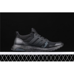 Men Undefeated x Adidas Ultra Boost EF1966 Black Shoes