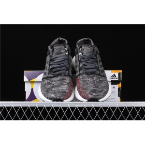 Men Adidas Pure Boost Go AH2323 In Gray Black Shoes