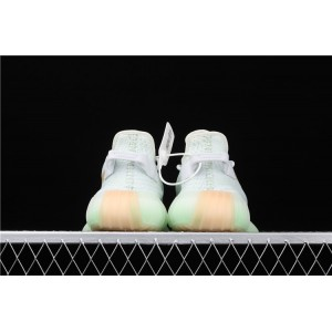 Men Adidas Yeezy Boost 350 V2 Hyperspace In Aqua Shoes