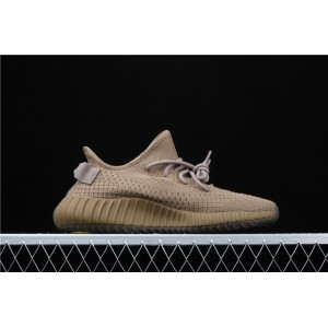 Men Adidas Yeezy Boost 350 V2 In Brown Shoes