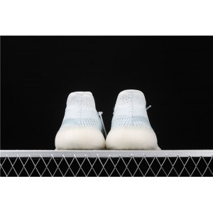 Men Adidas Yeezy Boost 350 V2 In Ice Blue Shoes