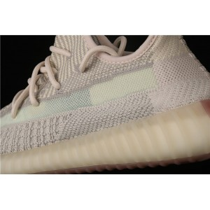 Men Adidas Yeezy Boost 350 V2 In Sand Gray Shoes