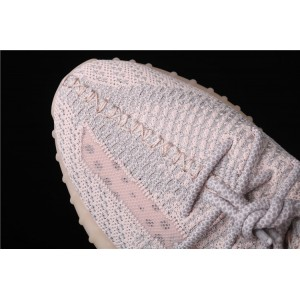 Men Adidas Yeezy Boost 350 V2 Synth In Gray Pink Shoes