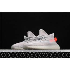 Men Adidas Yeezy Boost 350 V2 Tail Light In Smoke Grey Shoes