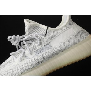 Men Adidas Yeezy Boost 350 V2 Tailgate In Gray White Shoes