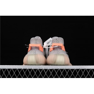 Men Adidas Yeezy Boost 350 V2 True Form In Gray Shoes