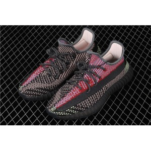 Men Adidas Yeezy Boost 350 V2 Yecheil In Red White Black Shoes
