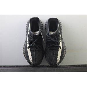 Men Adidas Yeezy Boost 350 V2 Real Basf In Black Cream Shoes