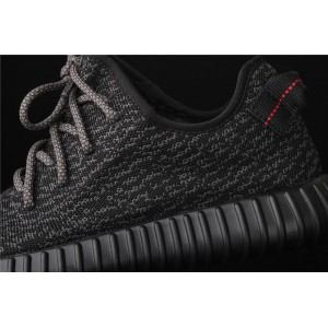 Men Adidas Yeezy Boost 350 Basf In Black Shoes