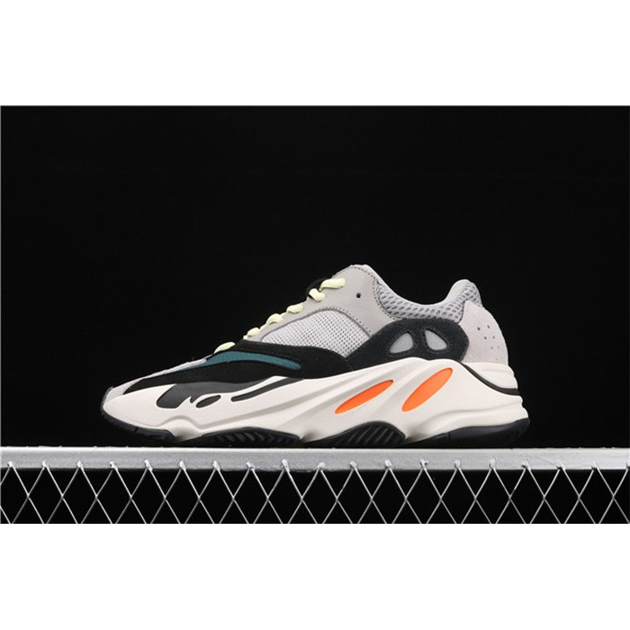Men Adidas Calabasas Yeezy Boost 700 Runner In Grey Black Shoes