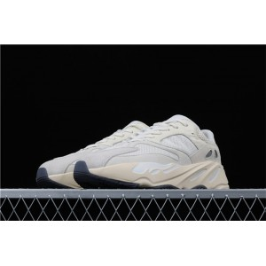 Men Adidas Yeezy Boost 700 Analog In Light Gray Cream Shoes