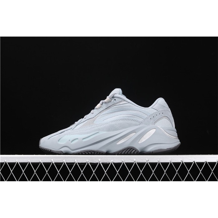 Men Adidas Yeezy Boost 700 V2 Analog In Blue Grey Shoes