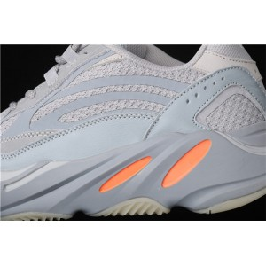 Men Adidas Yeezy Boost 700 V2 Inertia In Gray Ice Blue Shoes