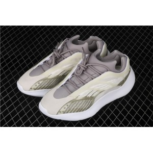 Men Adidas Yeezy Boost 700 V3 In Army Green Whirte Shoes