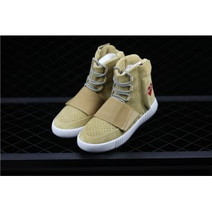 Men CDG PLAY x 750 Yeezy Basf Boost In Olive Shoes