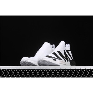 Women Adidas NMD Real Boost CS1 PK Cloud White EG7538 Shoes