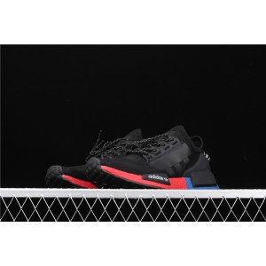 Women Adidas NMD Real Boost R1 V2 FW5328 Black Shoes