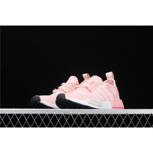 Women Adidas NMD Real Boost R1 EE5179 Pink Shoes
