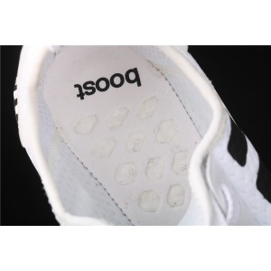 Women Adidas NMD Real Boost R1 FV3686 White Black Shoes