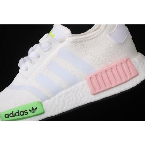 Women Adidas NMD Real Boost R1 FX0106 Cream Shoes