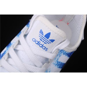 Women Adidas NMD Real Boost R1 G27916 Blue White Shoes