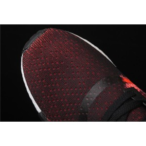 Women Adidas NMD Real Boost R1 G27951 Black Red Shoes