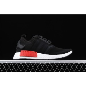 Women Adidas NMD Real Boost R1 PK S79168 Black Shoes
