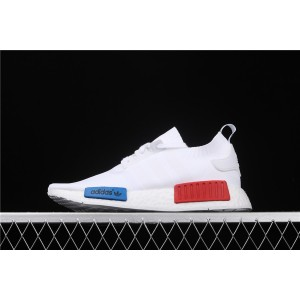 Women Adidas NMD Real Boost R1 S79482 White Shoes