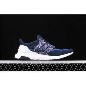 Women Adidas Ultra Boost 2.0 FW5230 Blue White Shoes