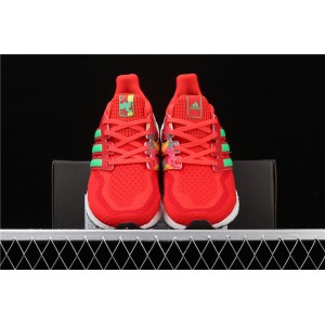 Women Adidas Ultra Boost 2.0 FW5231 Red White Shoes