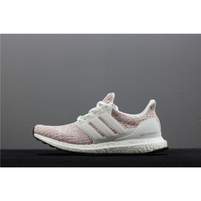 Women Adidas Ultra Boost 4.0 BB6169 Red White Shoes