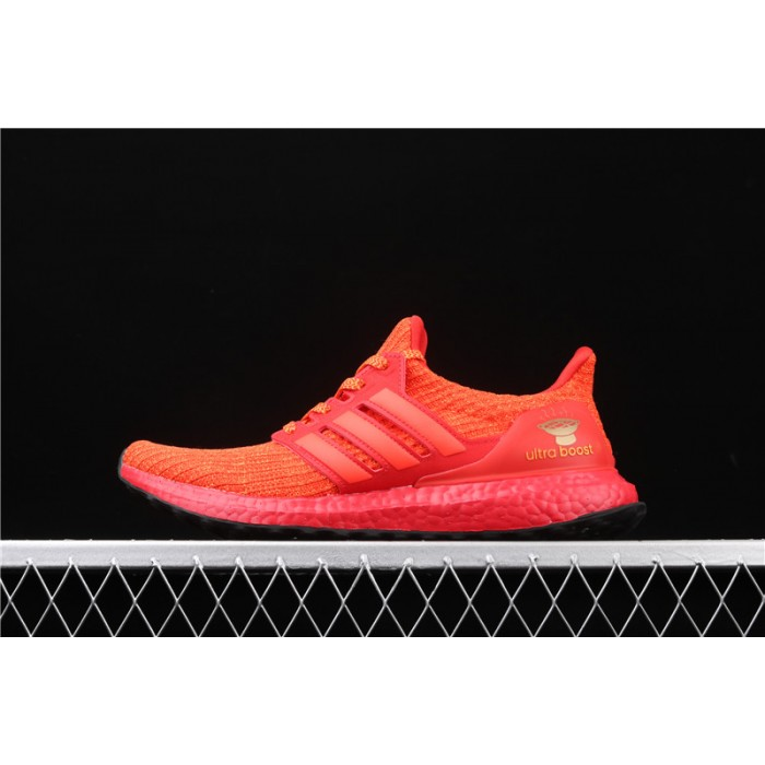 Women Adidas Ultra Boost 4.0 FW3723 Red Shoes